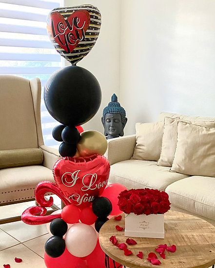 In love Balloons