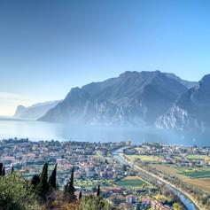 Torbole town, Garda Lake, Italy
