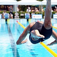 Martina Carraro at the Cool Swim meeting