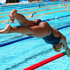 the swimmers can fly