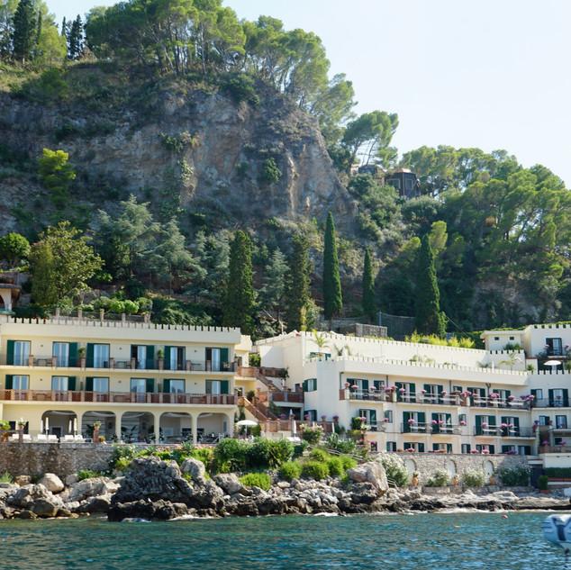 Hotel in Taormina, Sicily, Italy