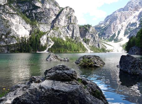 Pragser lake in Italy - nature's beauty!