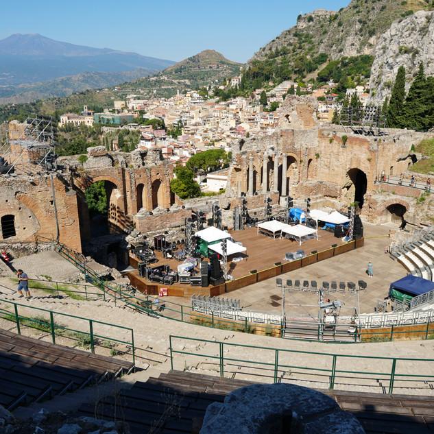Teatro Antico, Taormina, Italy