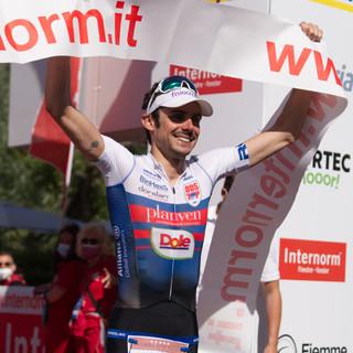 Michele Sarzilla the winner of 32nd triathlon