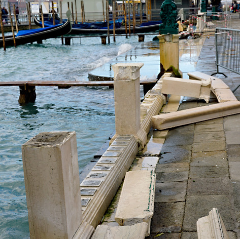 Venice, Italy after flood in November 2019