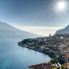 Limone town, Italy