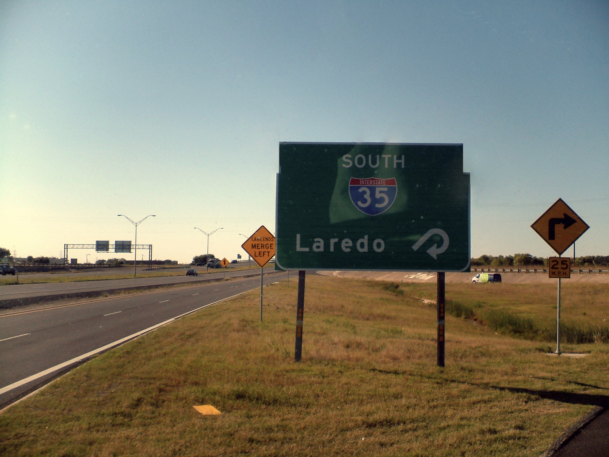 Almost there, Laredo, Texas, my common destination. Finally good food, shower and good all night sleep!