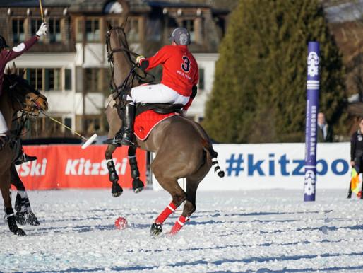 Snow Polo World Cup, Kitzbuhel, Austria, January 2020.