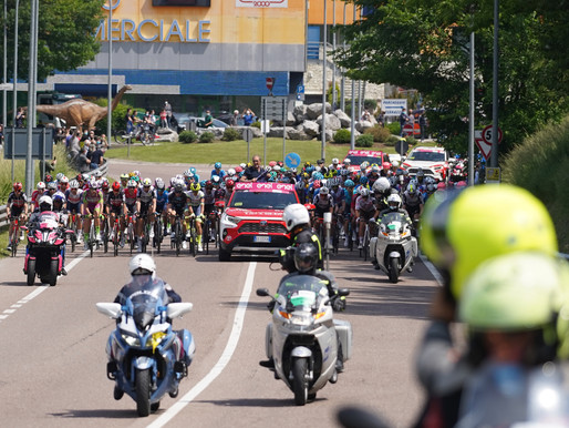 Giro d'Italia - stage 18, start at the km 0 in Rovereto on May 27 2021