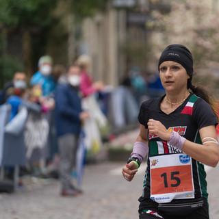 Arianna Lutteri the winer of Half Marathon in Merano, ITA