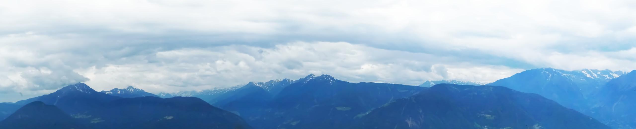 View from Knottkino, Italian Alps