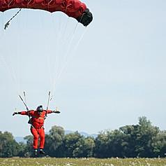 Skydiving in Slovakia