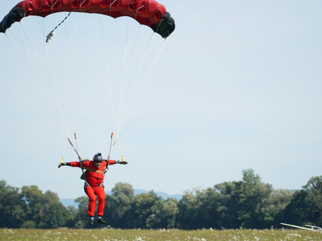 Skydiving in its best