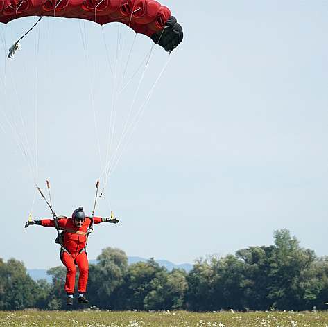 Skydiving in Slovakia