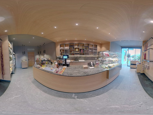 Raich Speck store in scenic Schenna/Scena, Italy - 360° virtual tour, what a wonderful opportunity!