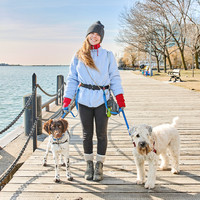 Jenn our dog walker on the Toronto Harbourfront