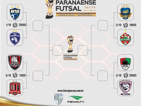 Campeonato Paranaense Serie Ouro 2021 entra em sua fase decisiva.