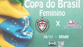 Final de semana de decisões na Copa do Brasil Feminina no Estado do Paraná.