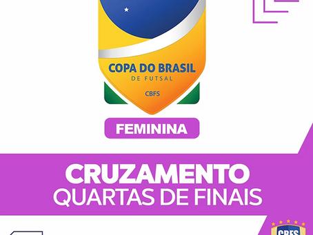 A Cbfs divulga a tabela com horários e jogos da 2º fase da Copa do Brasil Feminina