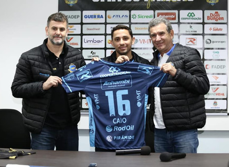 Pato Futsal apresenta fixo Caio Jogador, que estava no Gazprom-Ugra, da Rússia, desembarcou em Pato