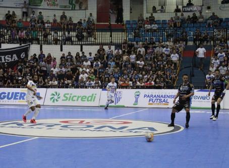 São José dos Pinhais Futsal/Master Cargas luta até o fim, mas perde para o Pato Futsal, fora de casa