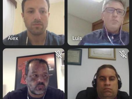 ABAFS e ABTFS juntas em reunião com a Federação Paranaense de Futebol de Salão!
