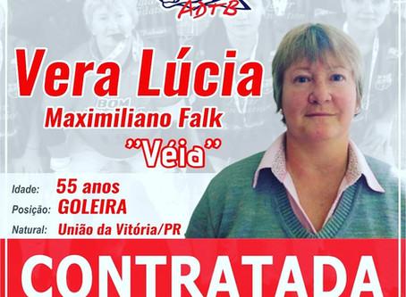 Sonhar não custa nada, Vera Lúcia Maximiliano Falk  realiza seu sonho e joga no ADTB…