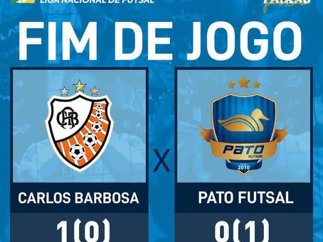 Atual campeão, Pato garante vaga na semi da Liga Nacional de Futsal