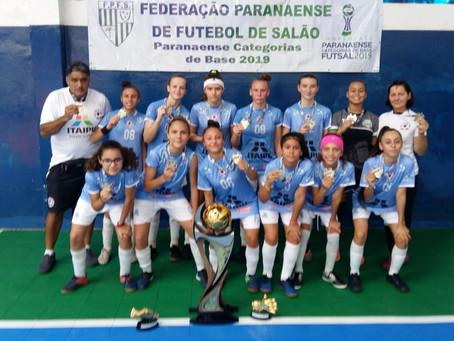 Afeto Toledo é a equipe Campeã do Campeonato Estadual de Base Sub 13 Feminino