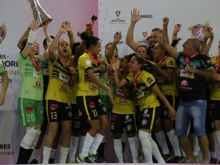 Equipe do Cianorte Futsal é Campeã da Libertadores