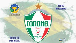 AFUVI – Associação de Futsal Vividense viaja para a Taça Brasil Sub 17 Masculino na cidade de Recife