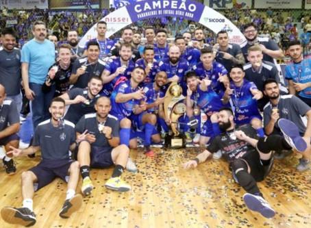 Foz Cataratas ganha final da Serie Ouro e é o Bicampeão da competição em 2019.