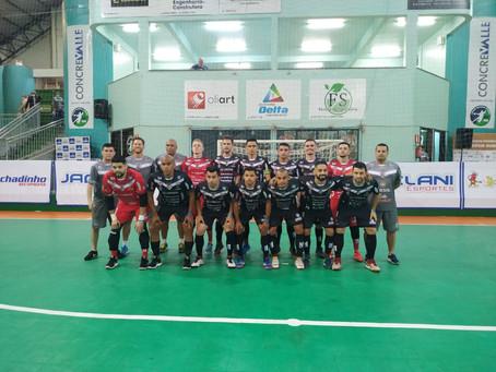 Dois Vizinhos ganha do Pato Futsal no tempo normal e prorrogação e passa de fase na Copa do Brasil