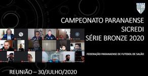 Reunião de Arbitral do Campeonato Paranaense Sicredi Serie Bronze