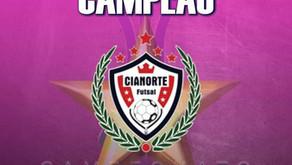 Cianorte Futsal Campeão do Paranaense Serie Ouro Feminina