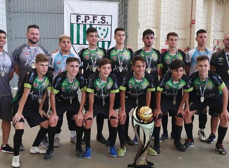 Com jogos realizados na Cidade de Matinhos Medianeira é o campeão da Categoria Sub 15 da Base