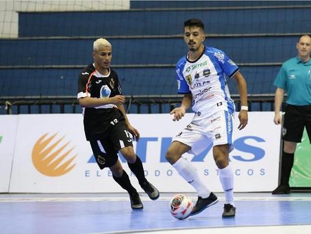 Pato Futsal sai na frente diante do Real Madruga pela Copa do Brasil Sicredi
