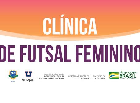 Clínica de Futsal Feminino