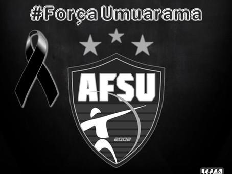 Acidente com ônibus do Umuarama Futsal na BR-376 sentido Santa Catarina