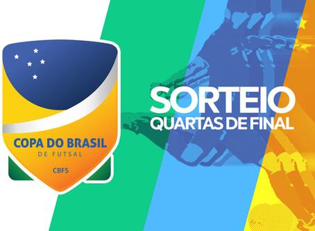 Resultado do sorteio dos confrontos das quartas de final da Copa do Brasil