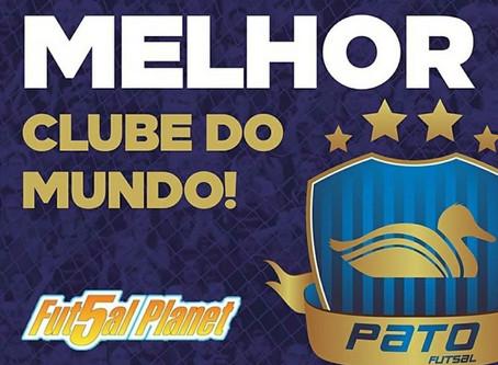 Parabéns aos Representantes do Paraná, entre os 10 melhores Clubes de Futsal do Mundo 2019.