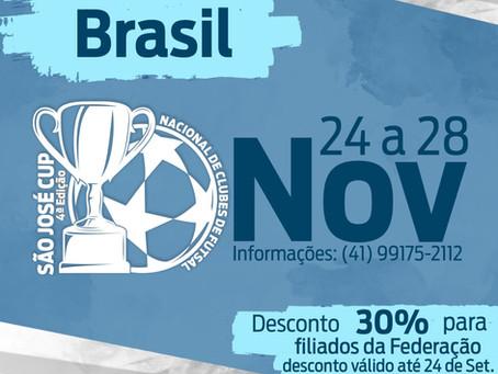 Vem ai a Competição São José Cup, não deixe de fazer sua inscrição.
