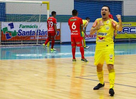 AACC Copagril disputa hoje último jogo fora de casa na primeira fase do Campeonato Paranaense