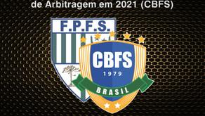 OFICIAIS DE ARBITRAGEM PARANAENSE NO QUADRO NACIONAL - CBFS EM 2021