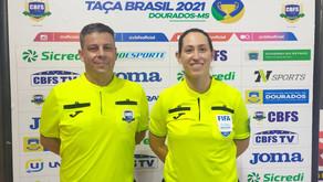Arbitragem Paranaense está bem representada na 48ª edição da Taça Brasil Adulto Masculino.