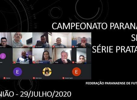 Federação Paranaense reuniu-se com as equipes do Campeonato Paranaense Sicredi Série Prata