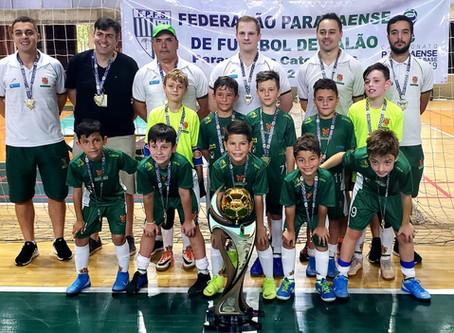 Clube Curitibano é o Campeão do Campeonato Estadual das Categorias de Base Sub 09 Masculino