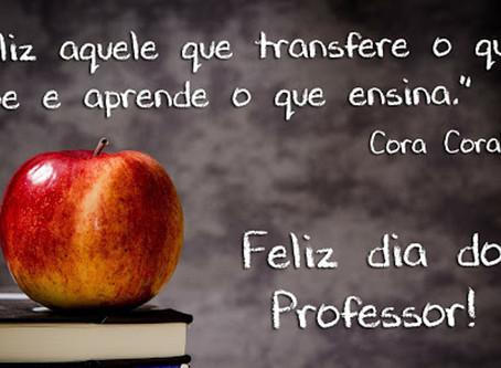 Parabéns Professor, aprender e ensinar é a maior prova de amor que pode existir.
