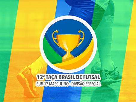 12º Taça Brasil Sub-17 Masculino Divisão Especial divulgação dos clubes e tabela