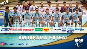 Umuarama joga contra o campeão da Liga Nacional Pato Futsal pelo Paranaense Serie Ouro